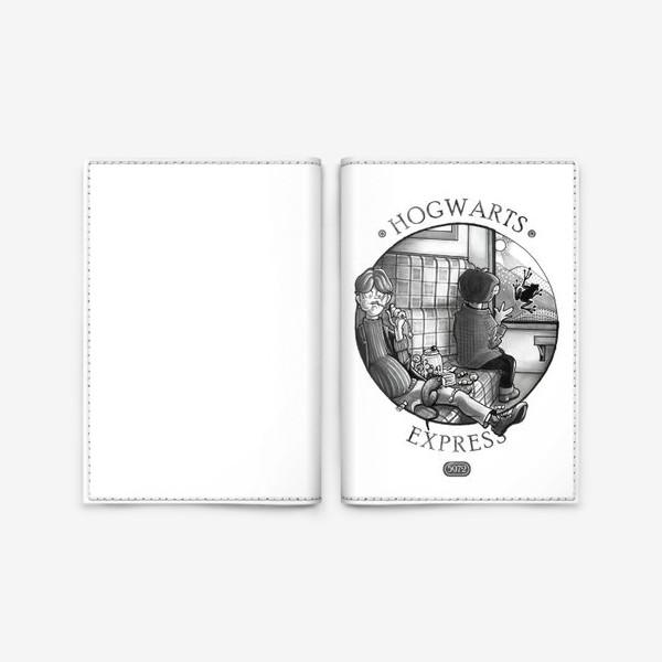 Обложка для паспорта «Гарри Поттер. Экспресс до Хогвартса.»
