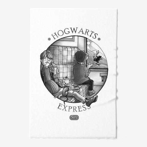Полотенце «Гарри Поттер. Экспресс до Хогвартса.»