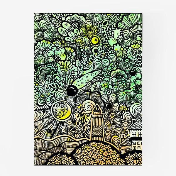 Постер «Маяк и комета »