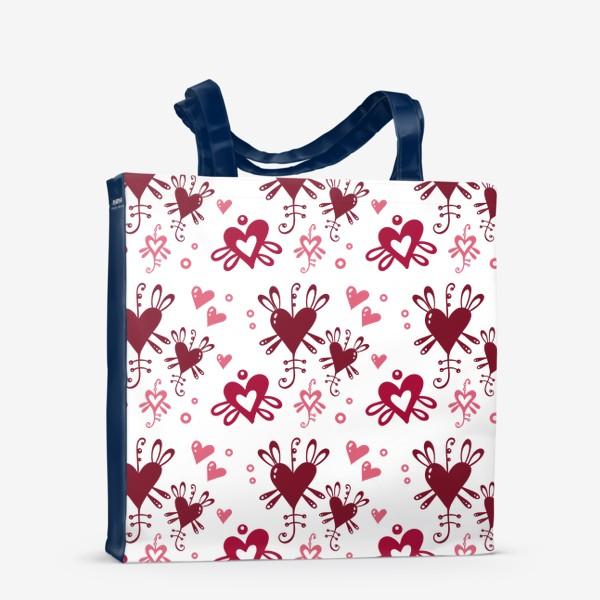 Сумка-шоппер «С днем святого Валентина. »