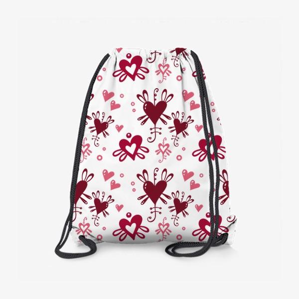 Рюкзак «С днем святого Валентина. »