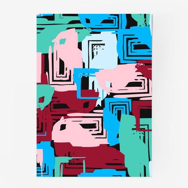 Постер «цветные квадраты»