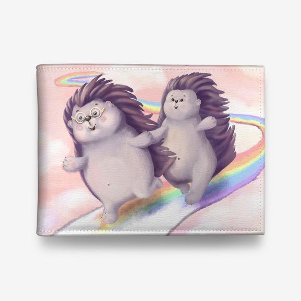Кошелек «Ёжики - Мечты на радуге»