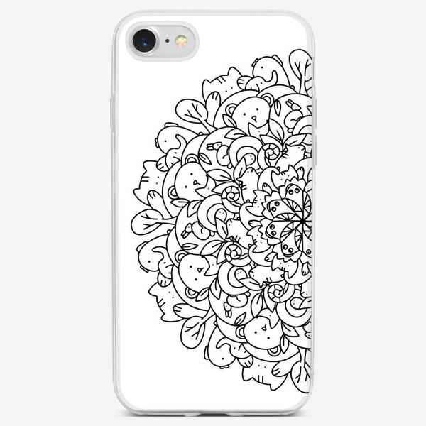 Чехол iPhone «Веселые зверюшки»
