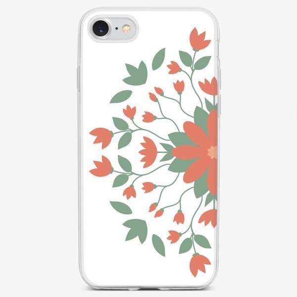 Чехол iPhone «Ботаническая иллюстрация»