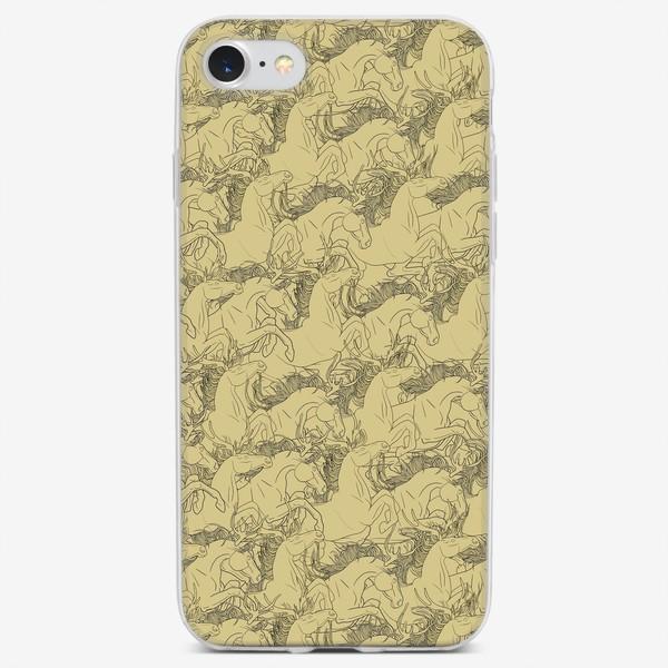 Чехол iPhone «Many many horses»
