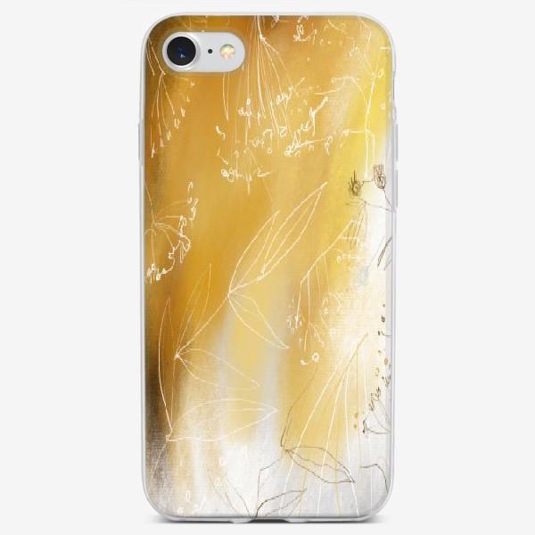 Чехол iPhone «Сухоцветы»