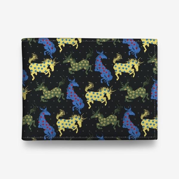 Кошелек «Colorful horned horses»
