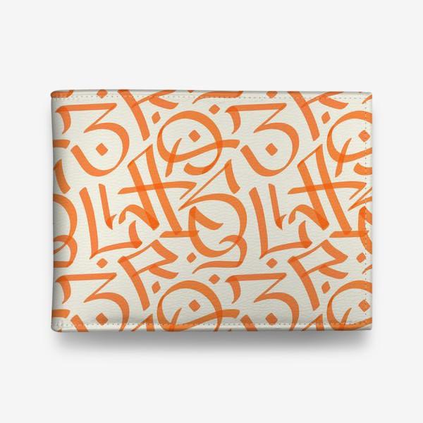 Кошелек «Оранжевое граффити»