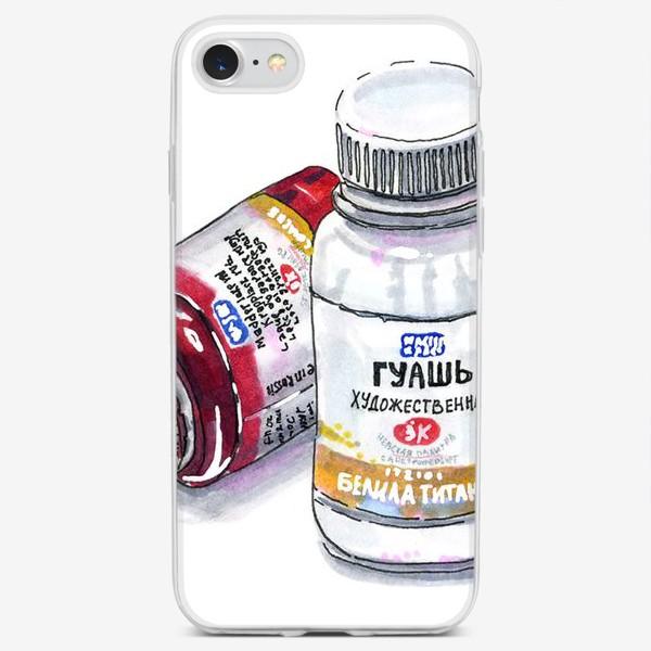 Чехол iPhone «ГУАШЬ »