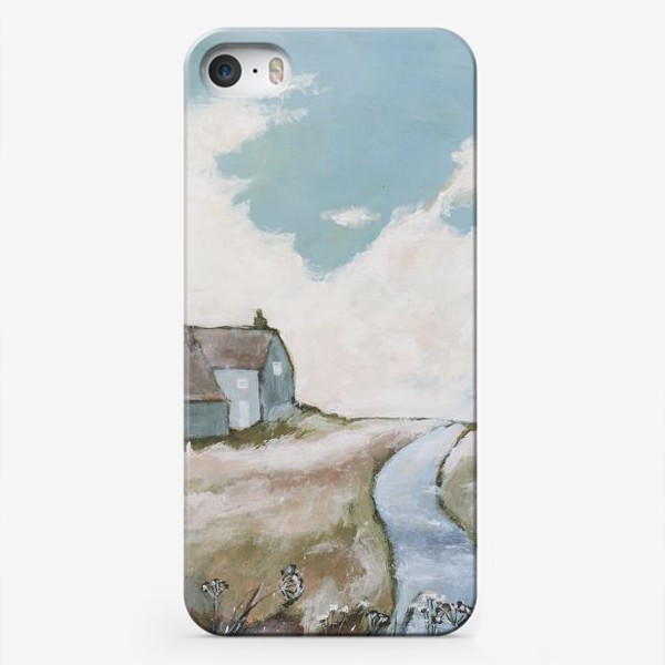 Чехол iPhone «Оглядываясь издали назад»