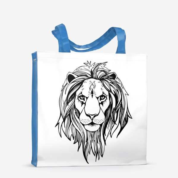 Сумка-шоппер «Лев. Графика»