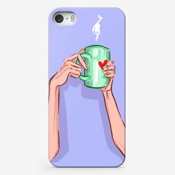 Чехол iPhone «Утренний кофе 2»
