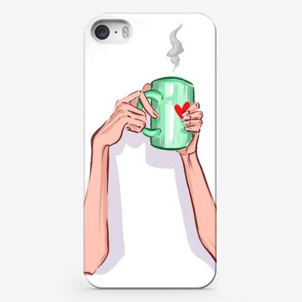 Чехол iPhone «Утренний кофе 3»