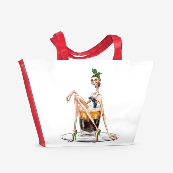 Пляжная сумка «Эспрессо патронум!»