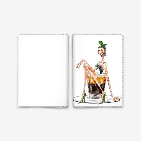 Обложка для паспорта «Эспрессо патронум!»