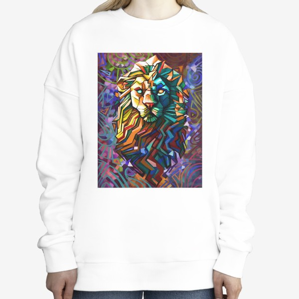 Свитшот «знак зодиака лев»