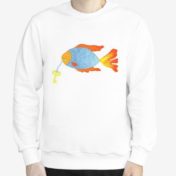 Свитшот «Рыбка с золотым ключиком»