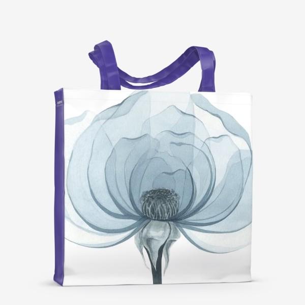 Сумка-шоппер «Голубая роза»