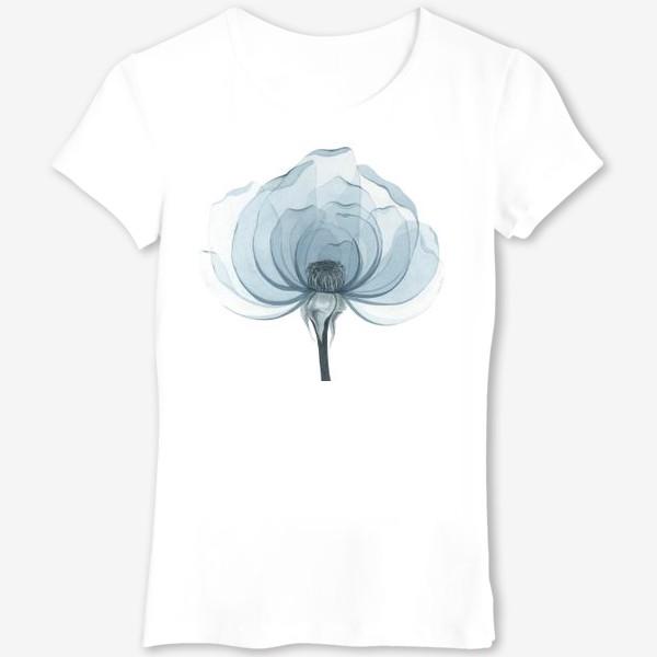 Футболка «Голубая роза»