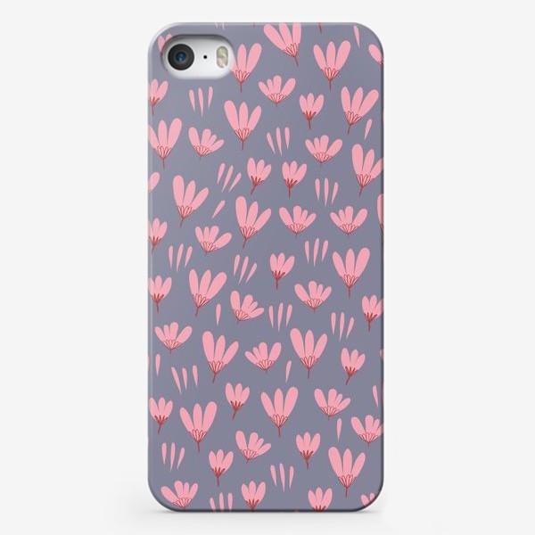 Чехол iPhone «розовые ромашки»