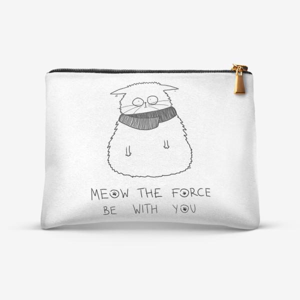 Косметичка «Star Wars. Да прибудет с тобой сила! Кот Йода »