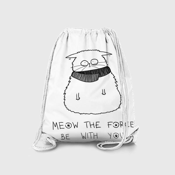 Рюкзак «Star Wars. Да прибудет с тобой сила! Кот Йода »