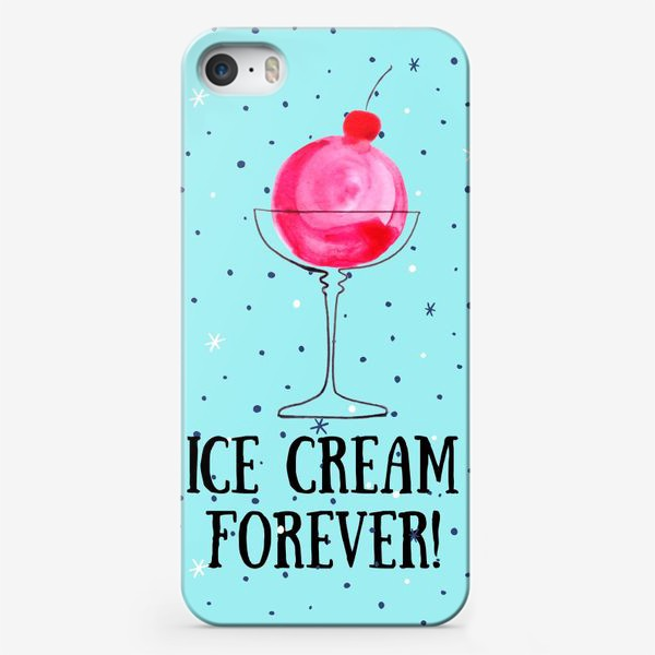 Чехол iPhone «Ice cream forever»