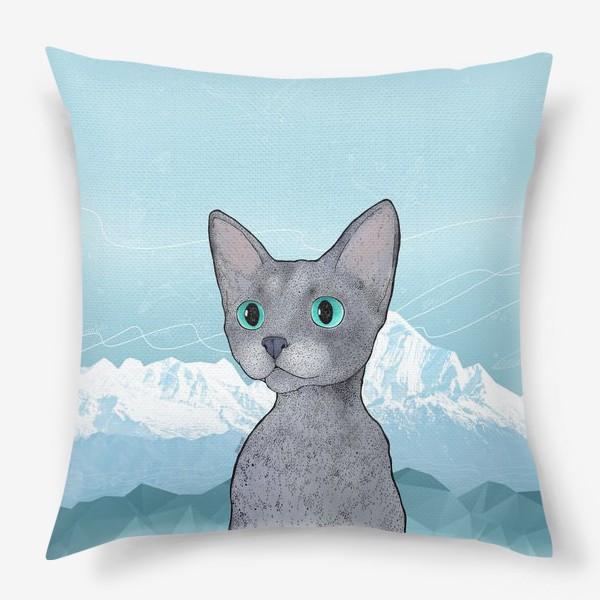 Подушка «Кот Клаус»