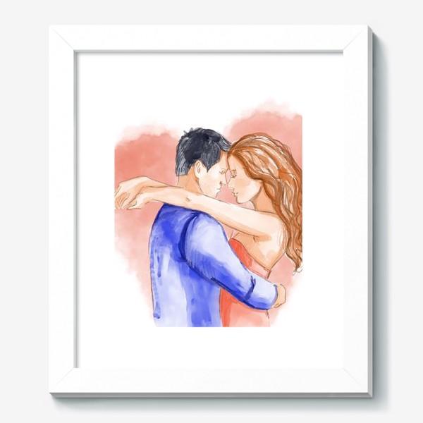 Картина «Влюбленная пара. 14 февраля. Любовь»
