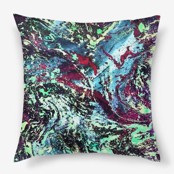 Подушка «цветовой всплеск»
