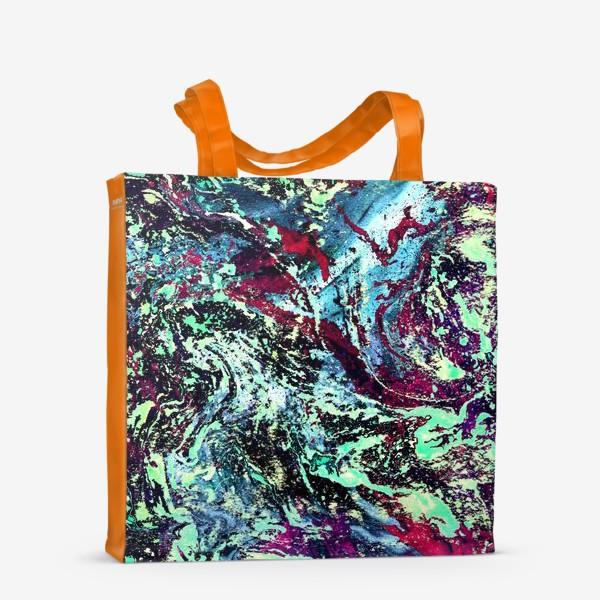Сумка-шоппер «цветовой всплеск»