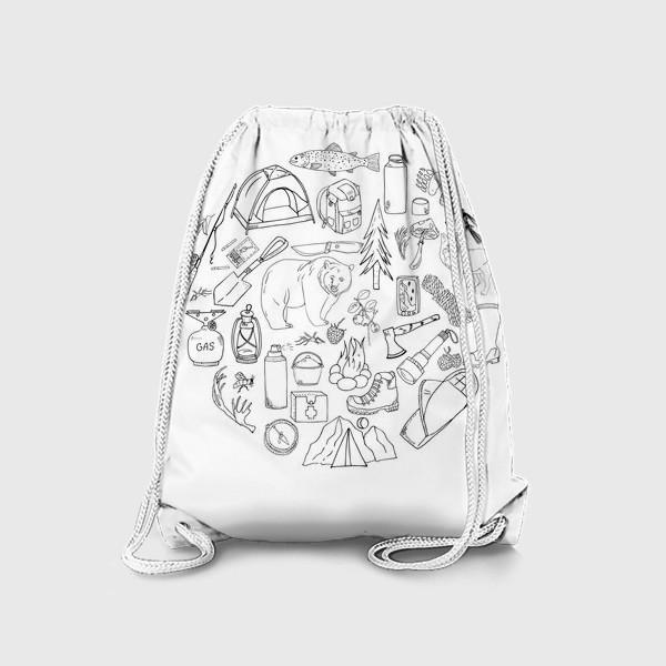 Рюкзак «походная жизнь, туризм»
