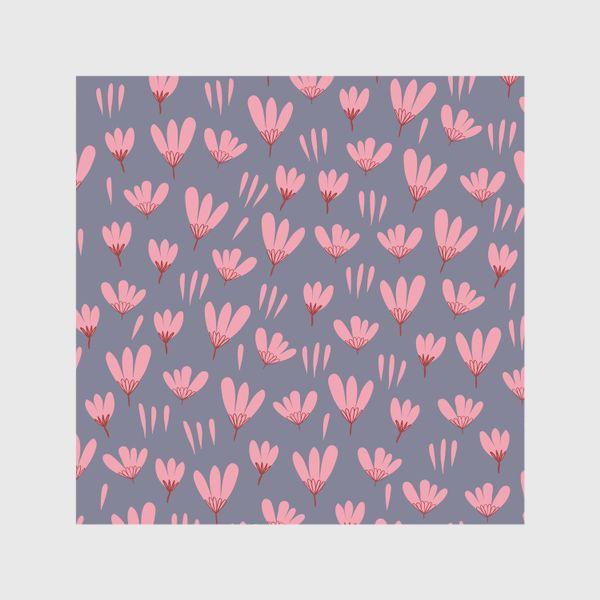 Шторы «розовые ромашки»