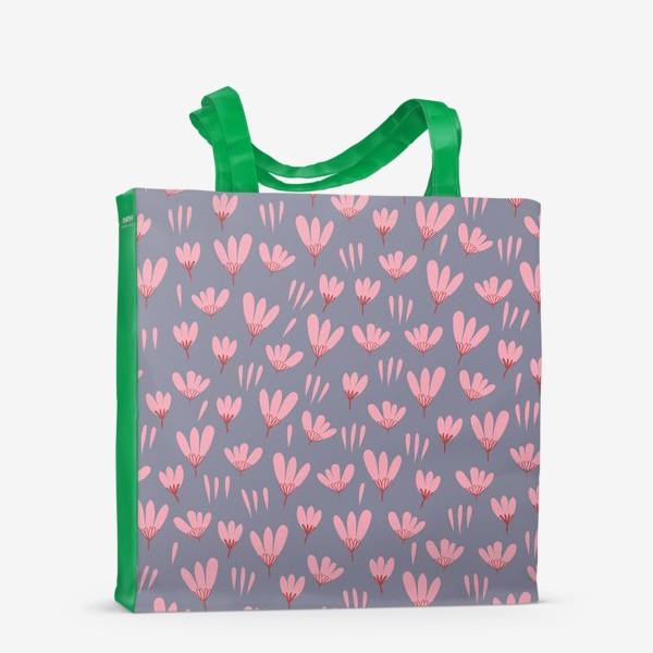 Сумка-шоппер «розовые ромашки»