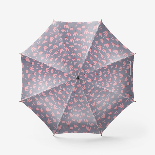 Зонт «розовые ромашки»