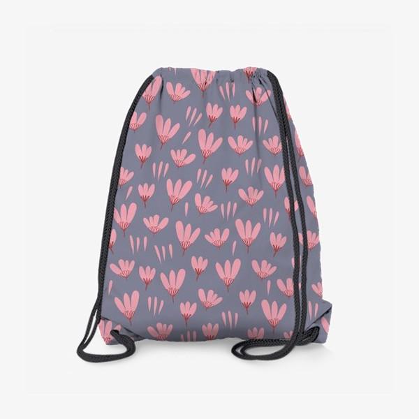 Рюкзак «розовые ромашки»