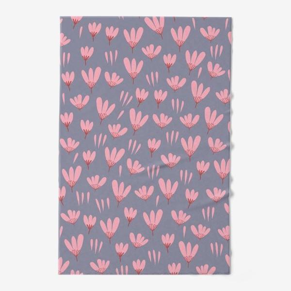 Полотенце «розовые ромашки»