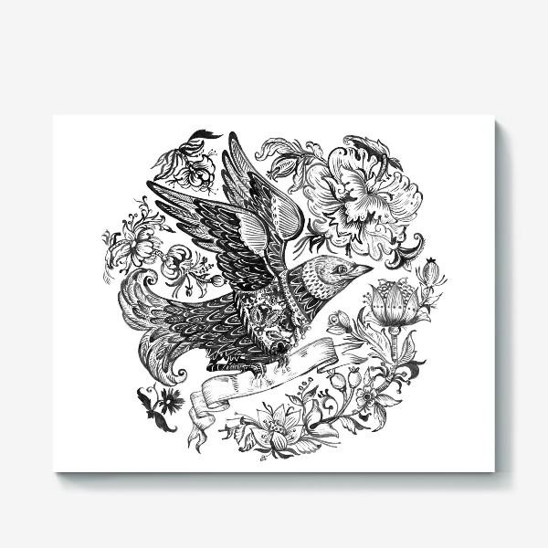 Холст «Птица счастья»