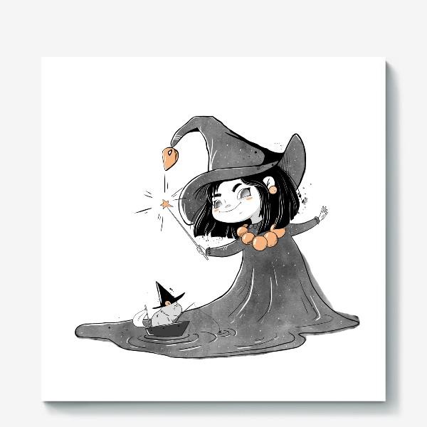 Холст «Волшебница»