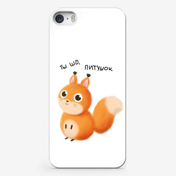 Чехол iPhone «Белочка»