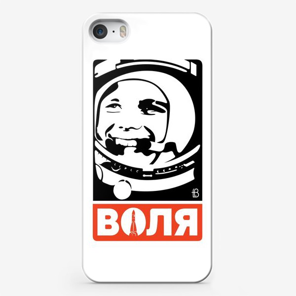 Чехол iPhone «Воля к победе / Гагарин / супергерои»