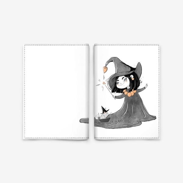 Обложка для паспорта «Волшебница»