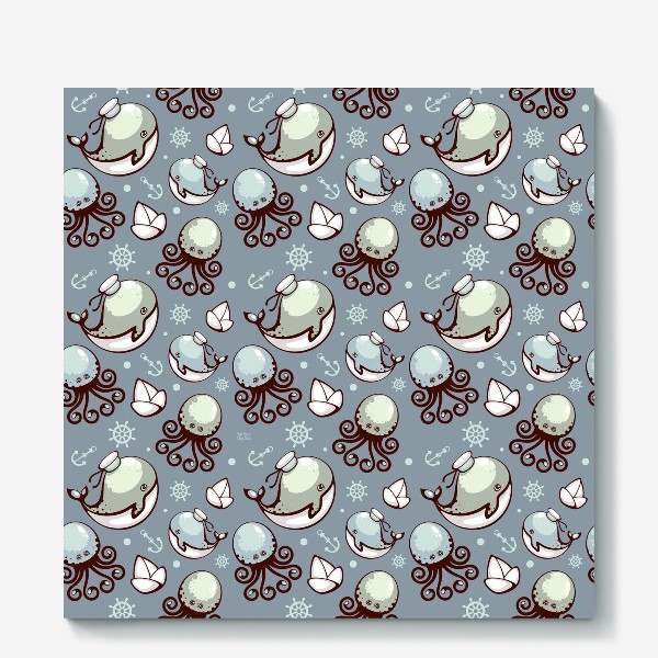 Холст «Sea pattern»