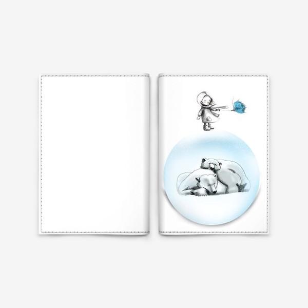 Обложка для паспорта «зима»