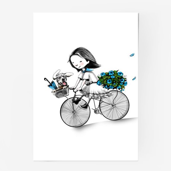Постер «Николь в Париже»