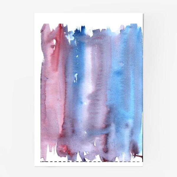 Постер «Абстрактный фон в фиолетовом цвете»