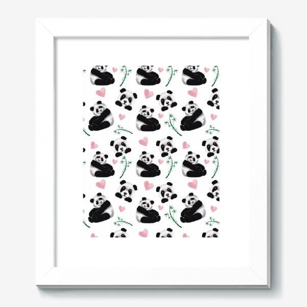 Картина «Пушистые панды»