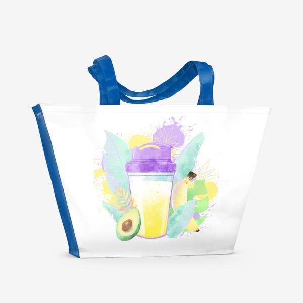 Пляжная сумка «PROTEIN SHAKE»