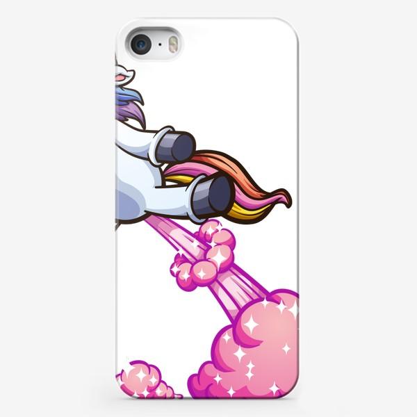 Чехол iPhone «Волшебный Единорог »